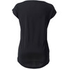 Mons Royale W's Cali Cap Square T-Shirt Black